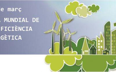 5 de març Dia Mundial de l'eficiència energètica
