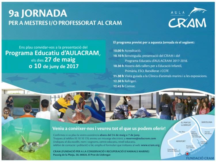 9a Jornada per a mestres i professorat al CRAM