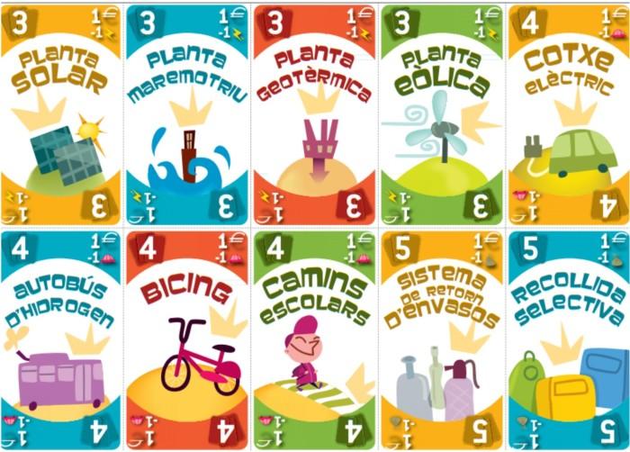 Joc de cartes: CIUTATS EN TRANSICIÓ