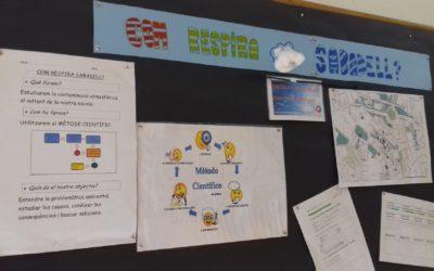 Estudi de la contaminació de l'aire de l'Escola Font Rosella