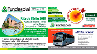 Estiu 2019 – La campanya d'autofinançament