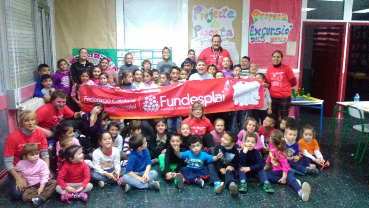 20 N – L'Esplai GISC del Prat de Llobregat dibuixa els drets!