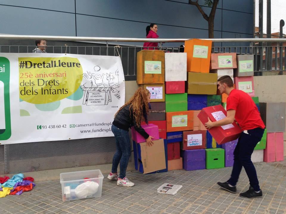 20 N- L'Esplai Can Serra i el mur dels drets!