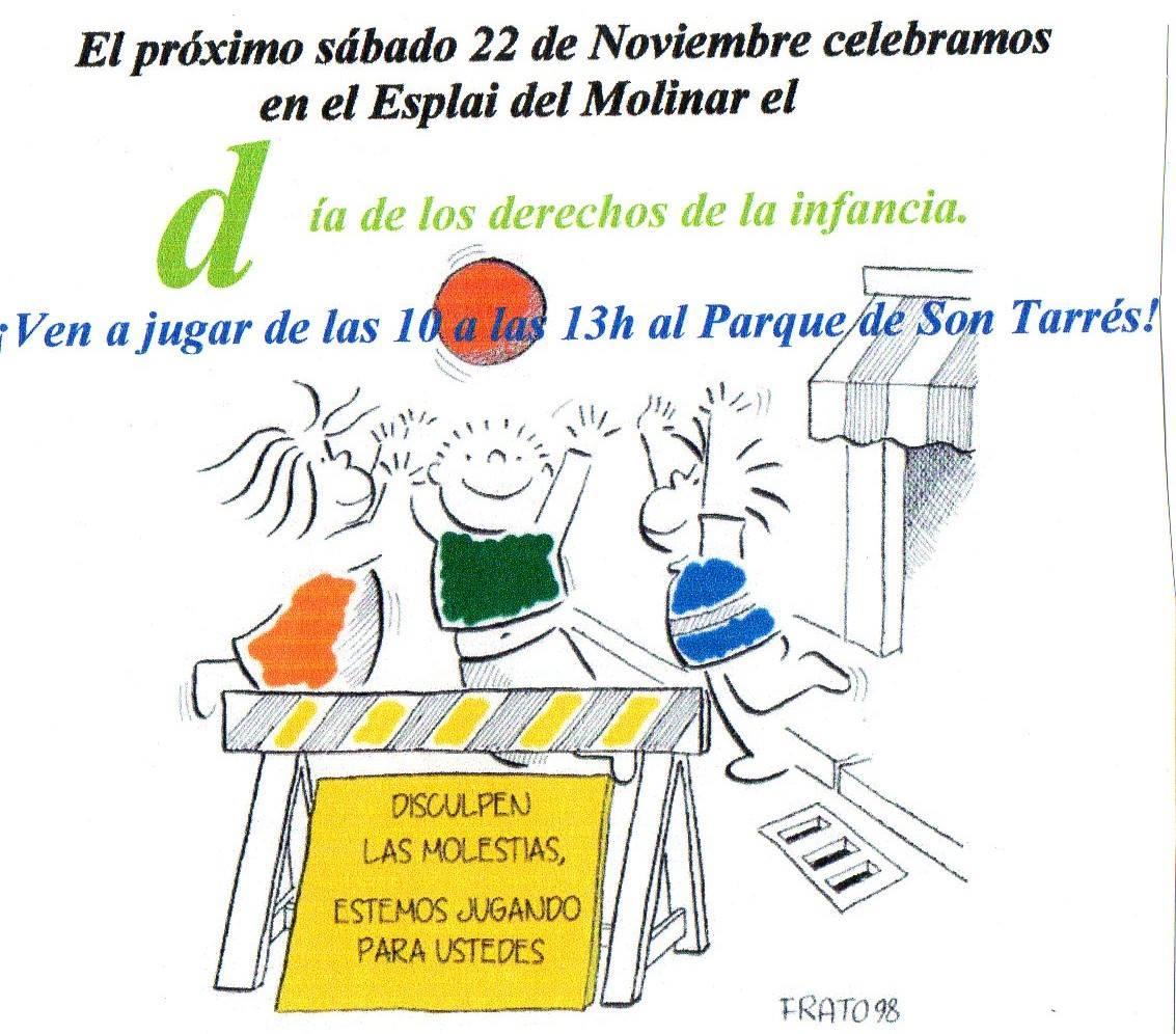 Palma de Mallorca es mobilitza pels Drets de la mà de l' Esplai el Molinar