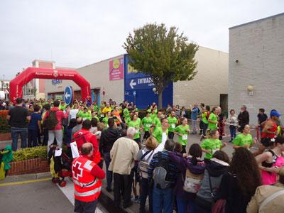 Més de 700 atletes participen a la II cursa solidària per a la infància