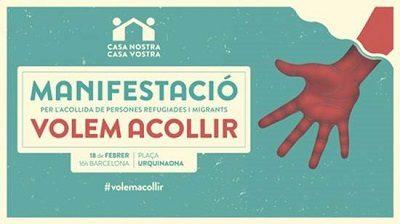 #VOLEMACOLLIR – Pels drets dels infants refugiats!