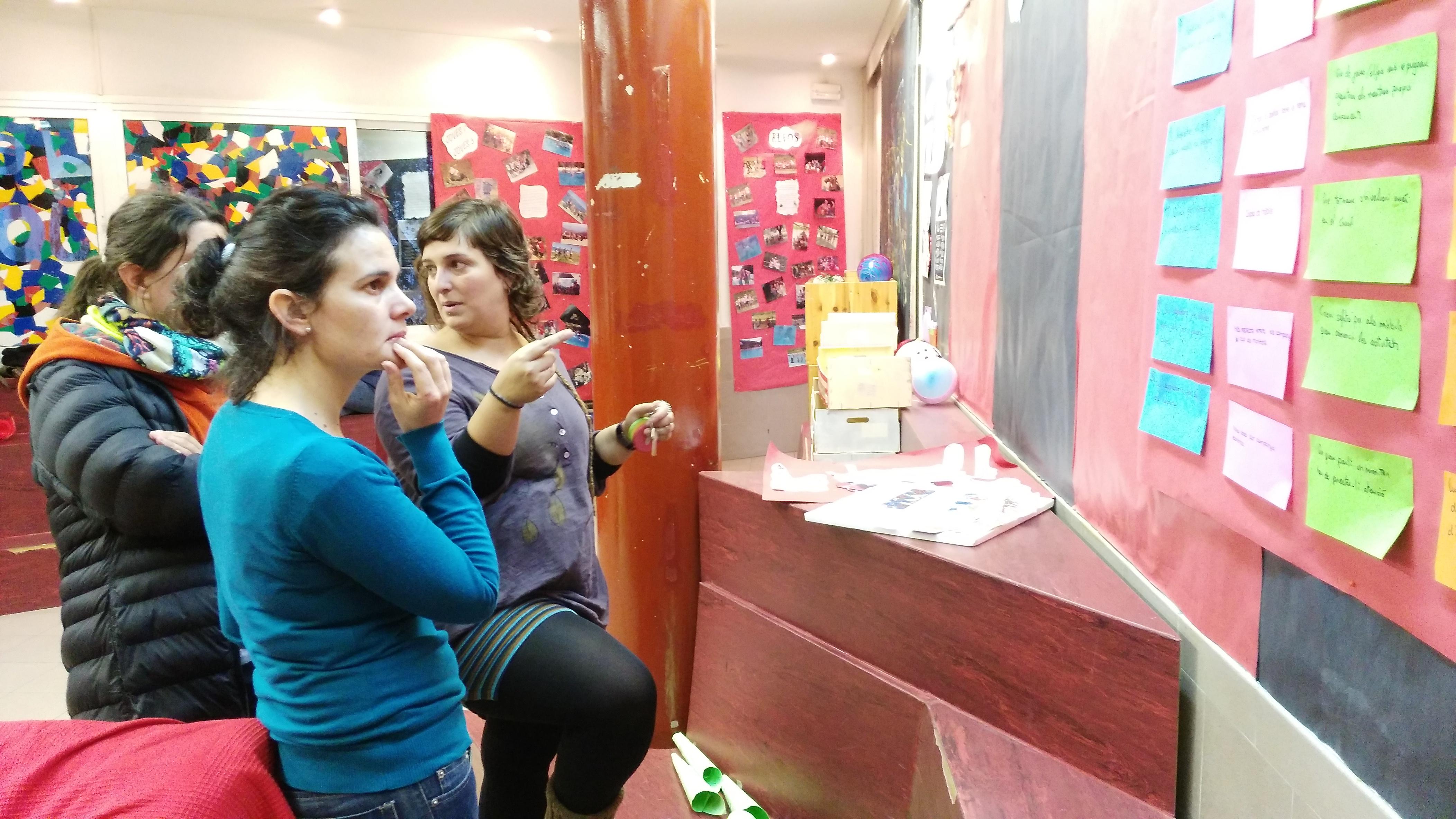 Compañeras de Fundación SES-Argentina visitan centros de esplai en Barcelona
