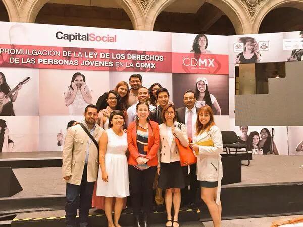 SERAJ (México) en 2015, liderando procesos de incidencia política
