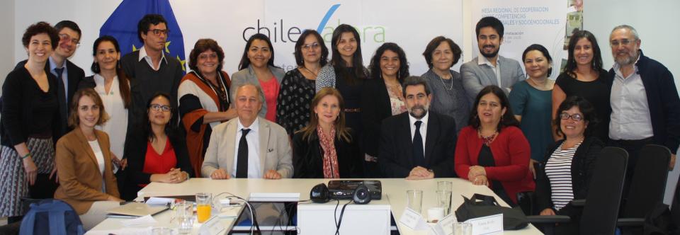 La Liga presente en Santiago de Chile