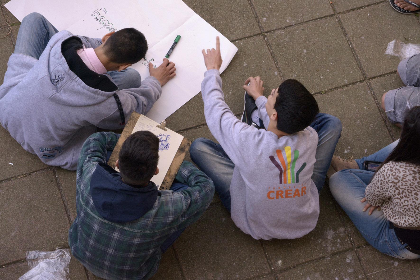Crear inicia los talleres para jóvenes en conflicto con la ley