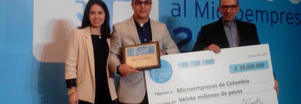 MICROEMPRESAS de Colombia recibe el Premio CITI 2017 como entidad MICROFINANCIERA INNOVADORA