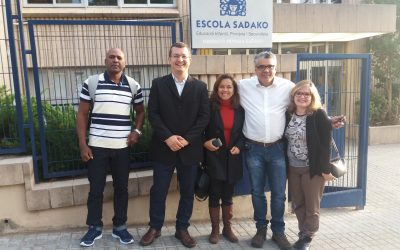 Experiências educacionais em Barcelona são visitadas pela equipe  do IA e da SEC-Bahia