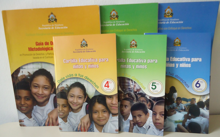 Material educativo en Honduras elaborado por COIPRODÉN es  autorizado y aprobado por la Secretaría de Educación