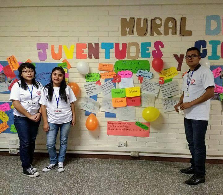 Juventudes por la ciudadanía, la paz y la equidad. Fe y Alegría Guatemala