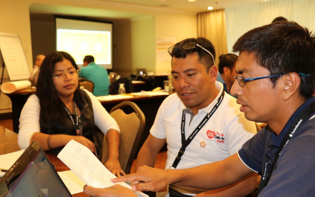Incidencia política: apoyando el fortalecimiento de los espacios de sociedad civil en la región Iberoamericana