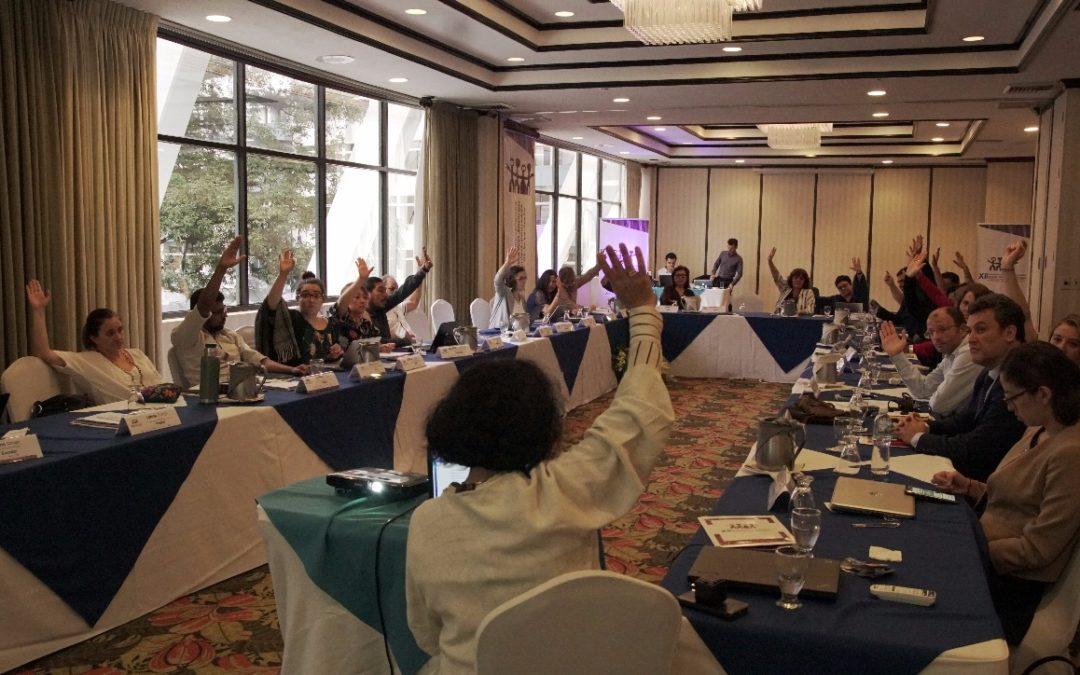 Edición definitiva del documento «Encuentros Cívicos Iberoamericanos: Historia, Trayectoria y Presente»