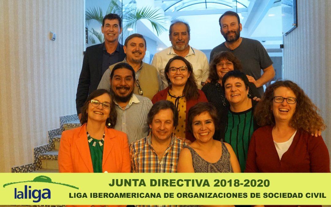Nueva Junta Directiva surgida de asamblea 2018 en Costa Rica