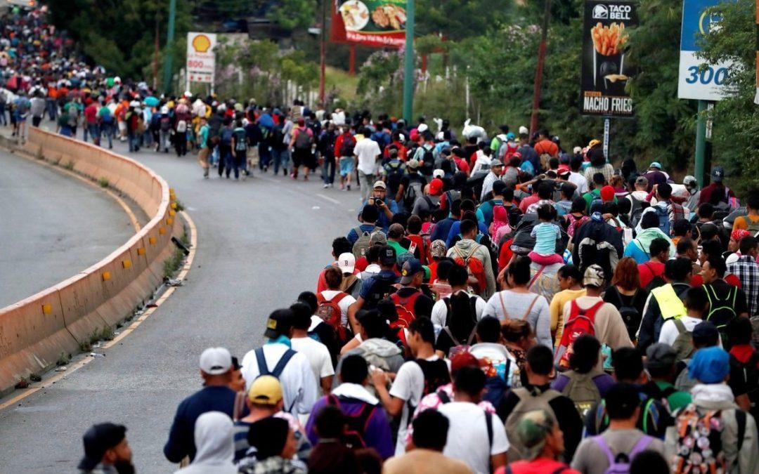 Posicionamiento personas migrantes centroamericanas