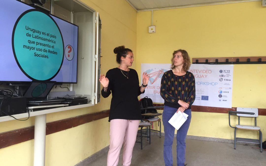 Las TIC ( Tecnologías de información)+ los y las jóvenes en Uruguay. El Abrojo contribuyendo a reducir la brecha digital.