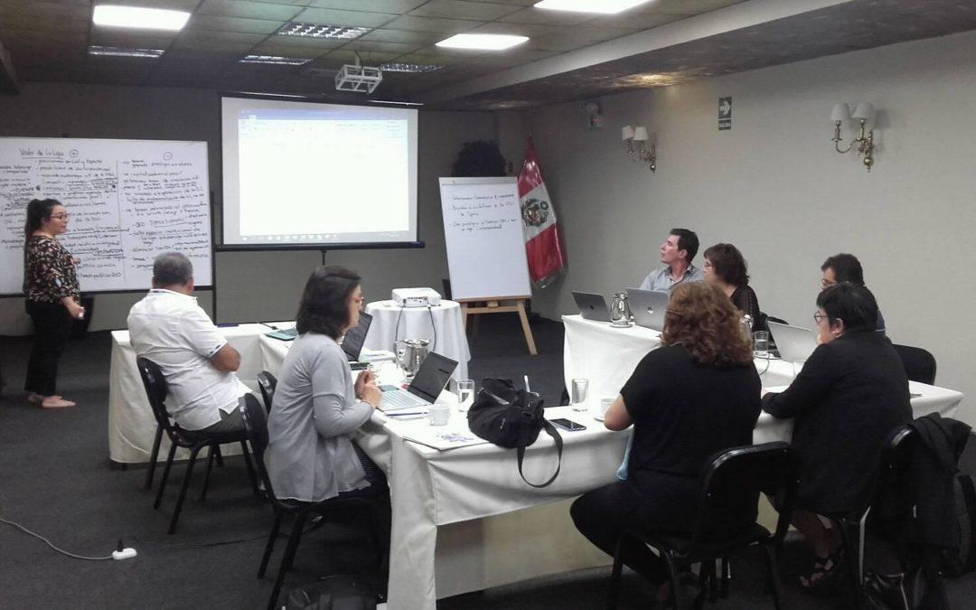 Reunión de Junta Directiva de La Liga en Lima