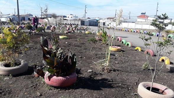 Un jardín infantil convierte un basurero en un parque, Chile.