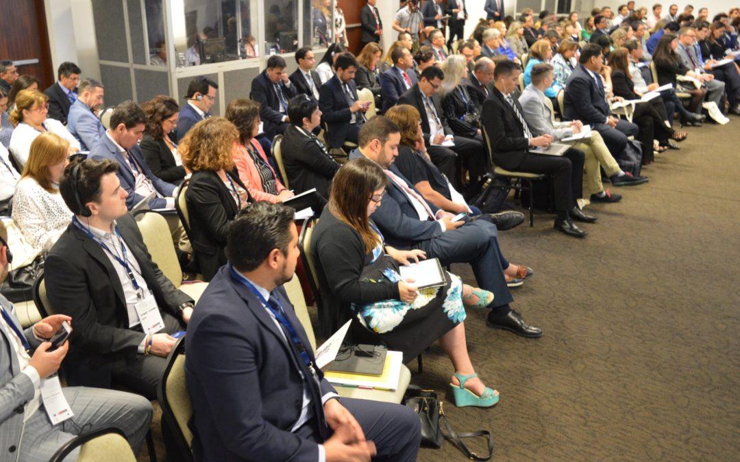 Seminario de EUROSOCIAL en Lima- La Liga presente