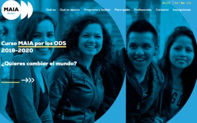 CURSO MAIA por los ODS 2030. Iª EDICIÓN 2019-2020
