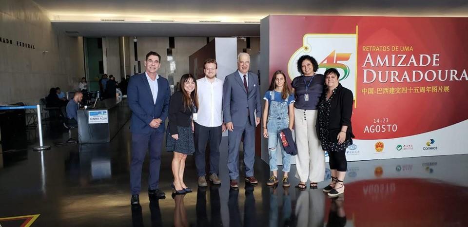 Delegación de La Liga visita Senado del Congreso Nacional de Brasil en Brasilia