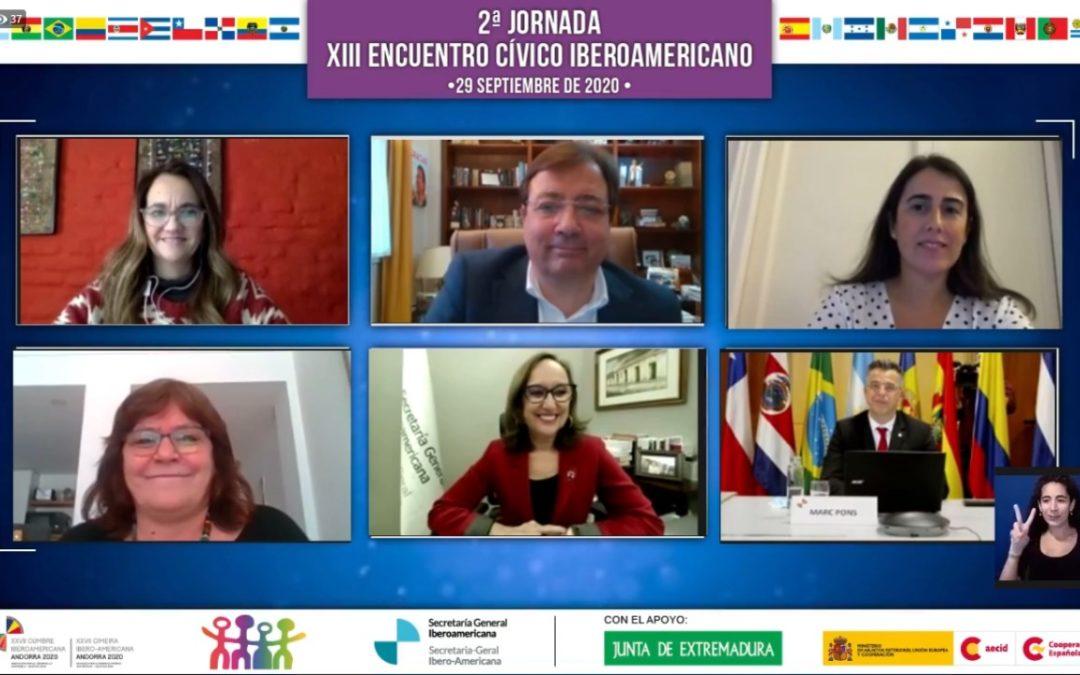 Declaración final del XIII Encuentro Cívico Iberoamericano y próximos pasos