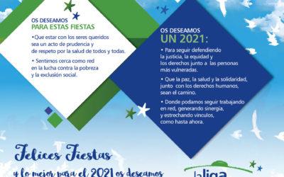 Felices Fiestas 2020 y mejor 2021