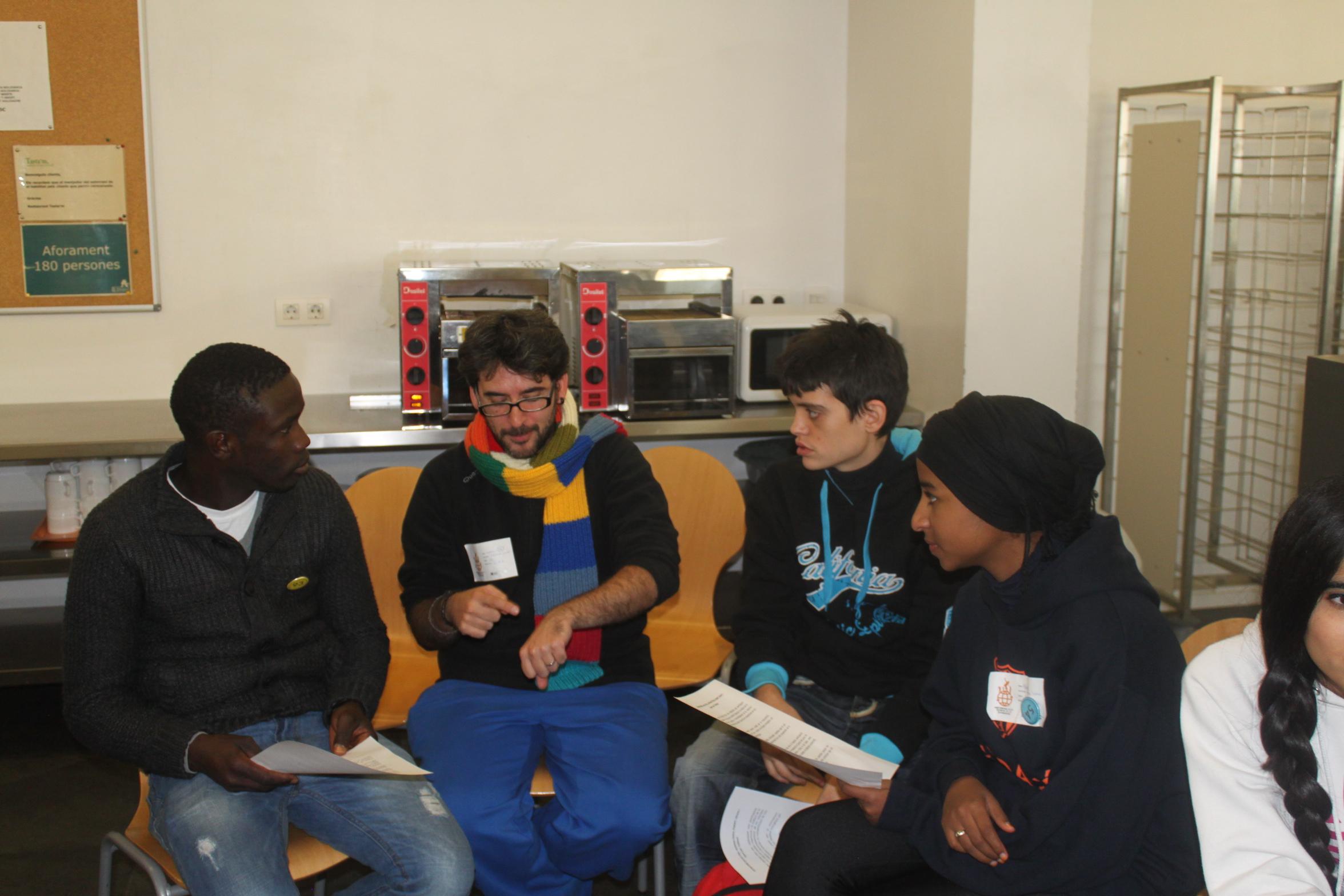 El Tresca Jove, present a la Setmana pels Drets de la Joventut