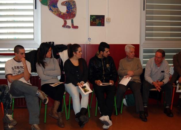 Acte de presentació del grup de mentors als membres del Tresca Jove.