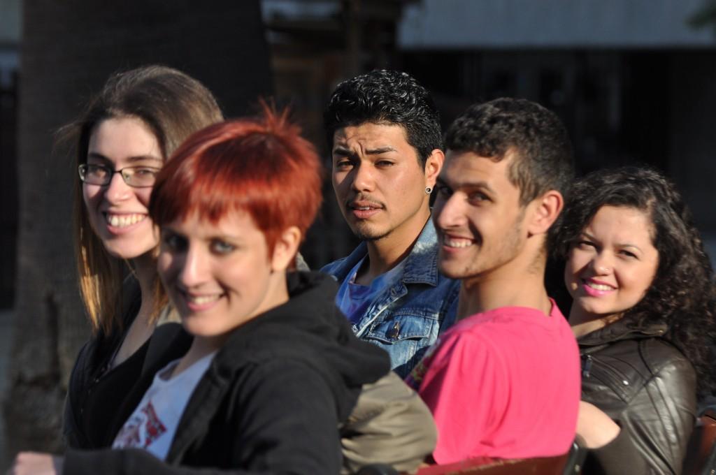 Joves de diferents edicions del Projecte Tresca...