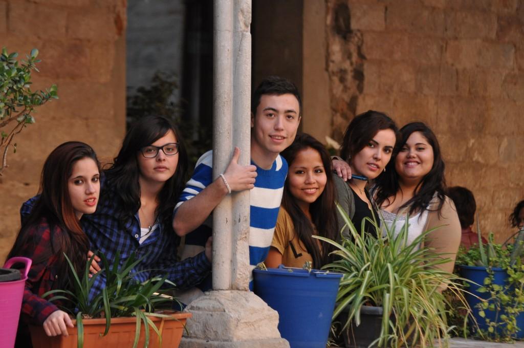 Joves del projecte Tresca